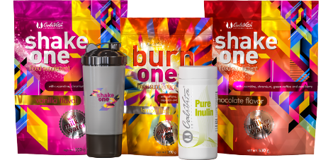 One Diet pack + Pure Inulin i Crni Shaker